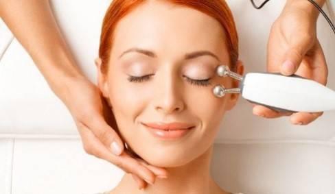 Микротоковая терапия для лица в салоне красоты Т-Стиль